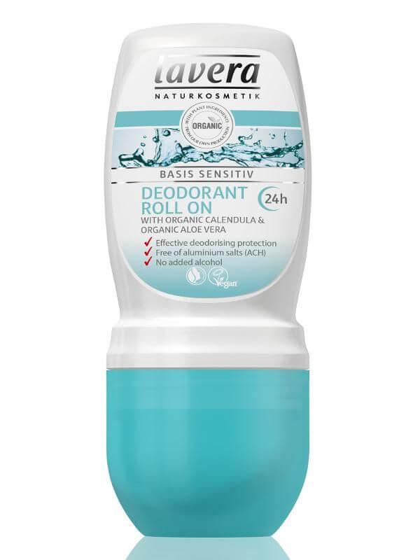 Guličkový dezodorant Basis Sensitiv Lavera 50 ml