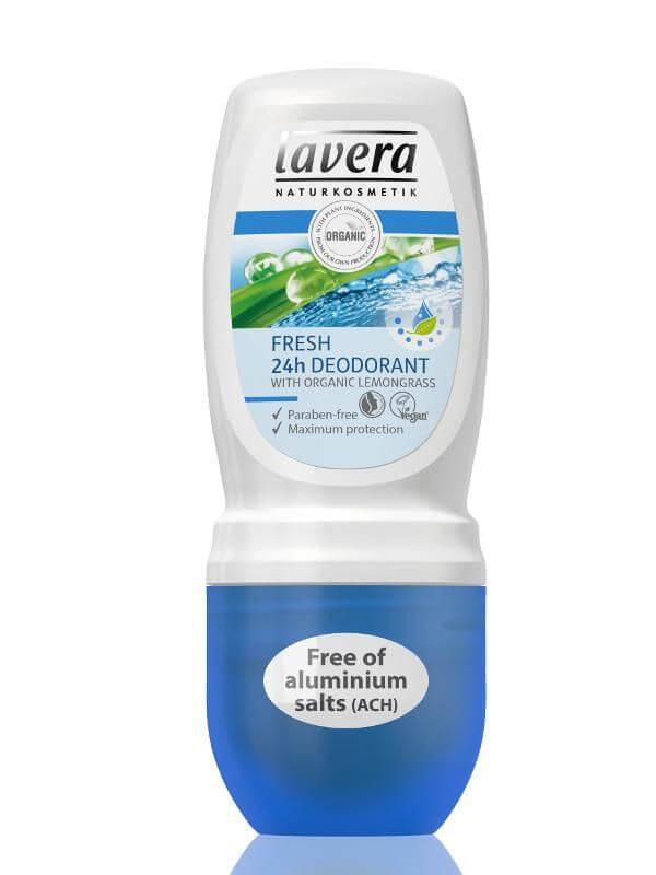 Jemný guličkový dezodorant vôna citronová tráva 50ml