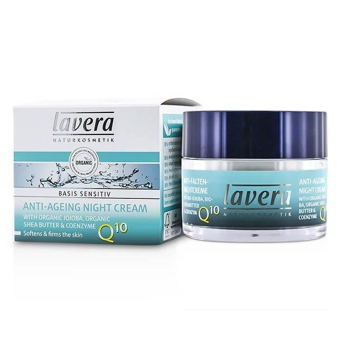 Nočný krém Q10 Basis Sensitiv Lavera 50 ml
