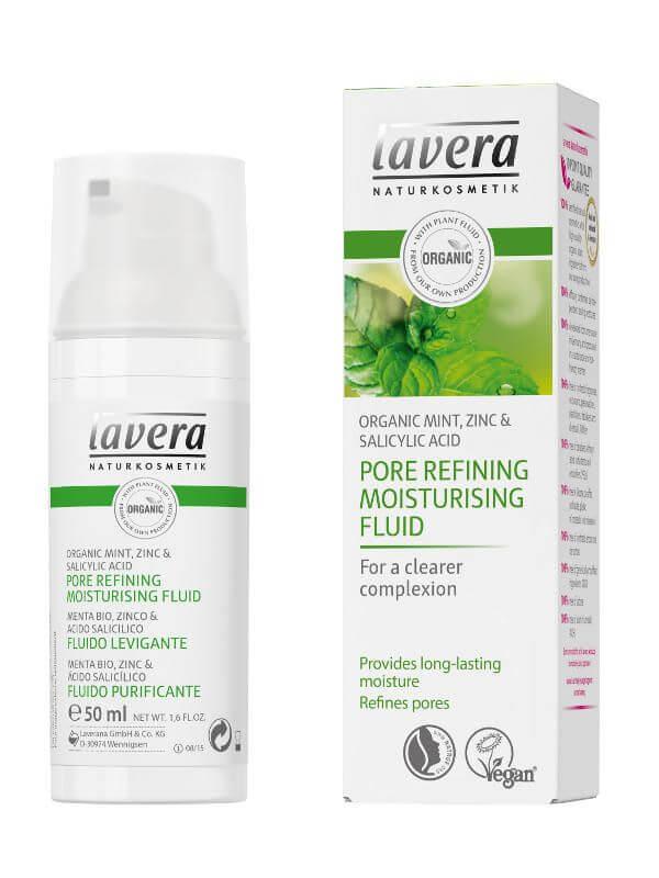 Zjemňujúci hydratačný fluid Lavera 50ml
