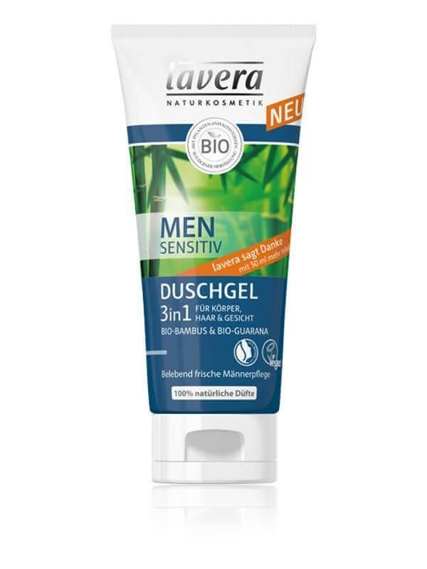 Pánsky telový a vlasový šampón 3 v 1