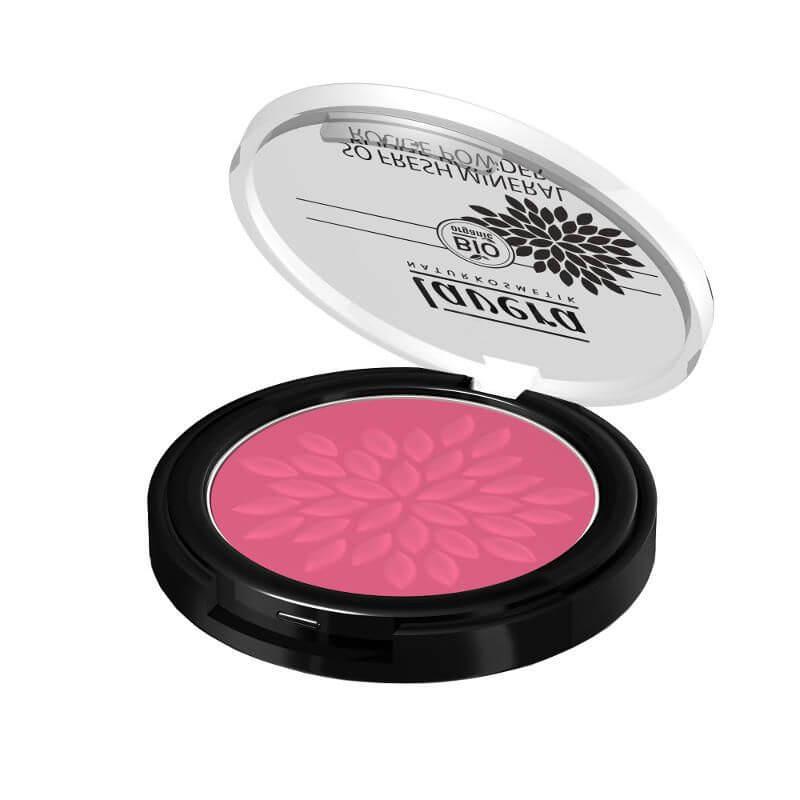 Púdrová farba na líčka Lavera odtieň ružová harmónia