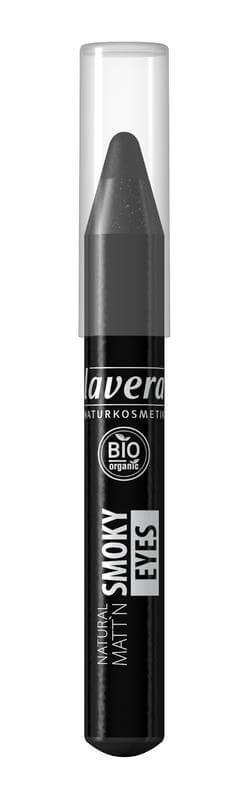 Dymové tiene matné v ceruzke farba čierna