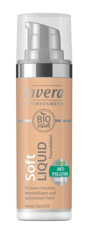 Lavera ľahký tekutý make-up odtieň med 30 ml