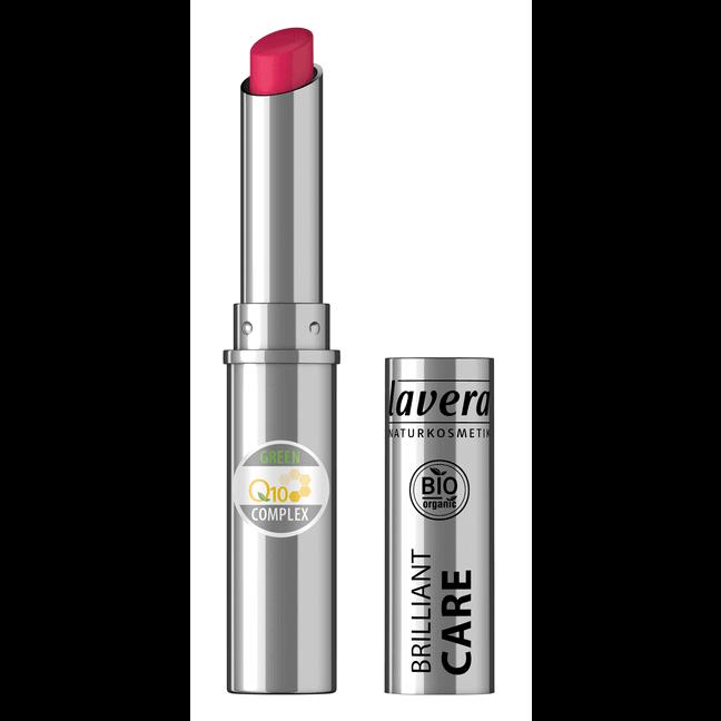 Prírodný rúž Brilliant Care Q10 odtieň Čerešňovo-červená