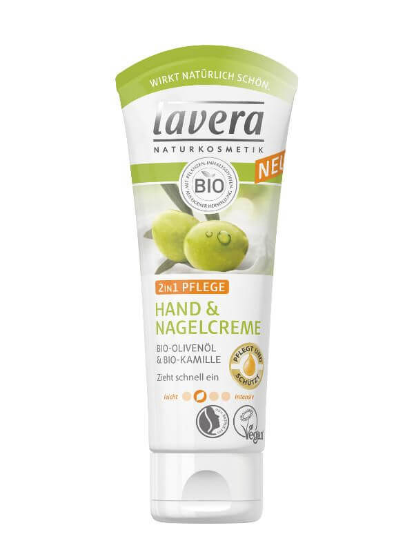 Krém na ruky a nechty Lavera 2v1 75 ml