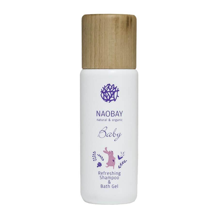 Detský šampón a umývací gél v jednom Naobay 200 ml