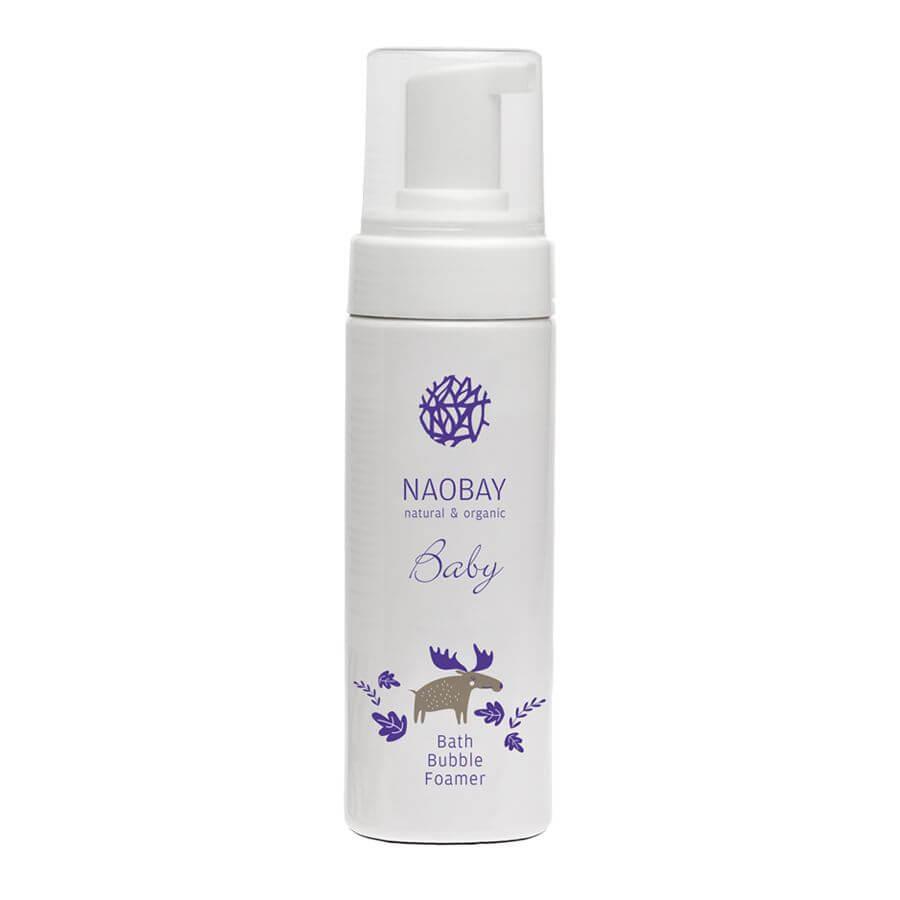 Detský šampón s bublinkovou penou Naobay 150 ml