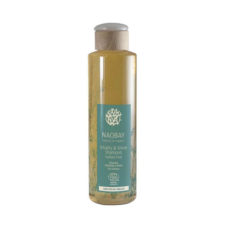 Vlasový šampón pre vitalitu a lesk Naobay 250 ml