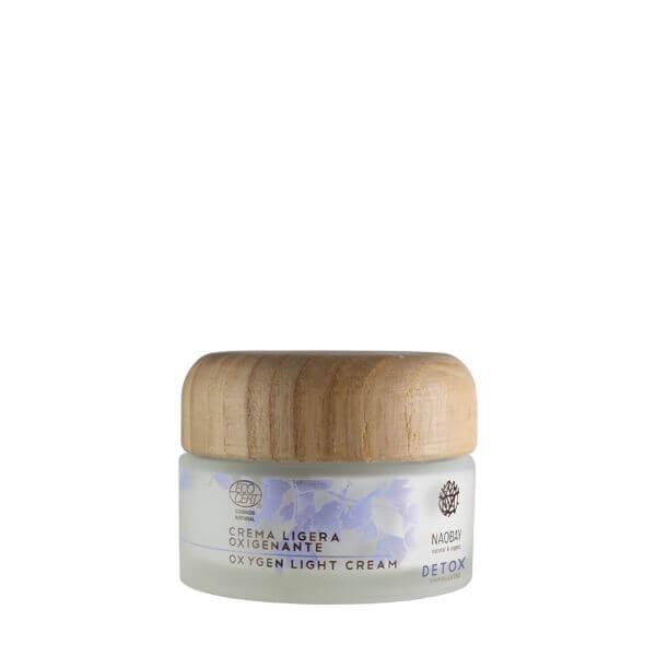 Okysľučujúci ľahký krém detox Naobay 50 ml