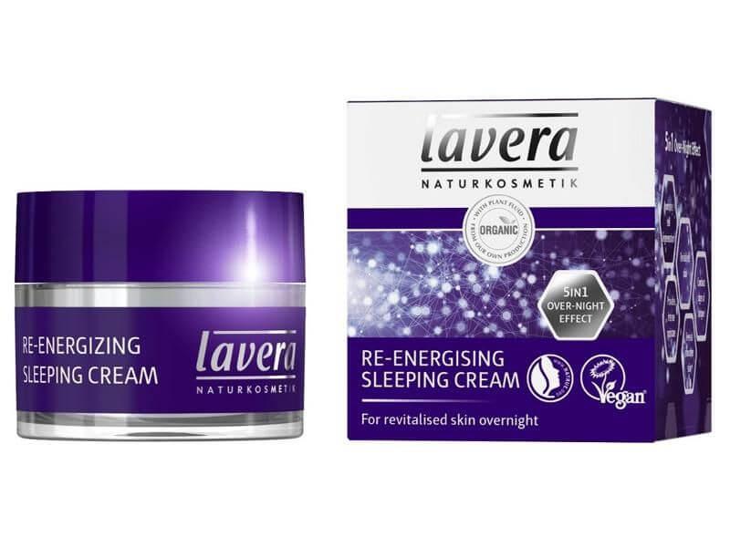 Nočný krém energetizujúci Lavera 50 ml