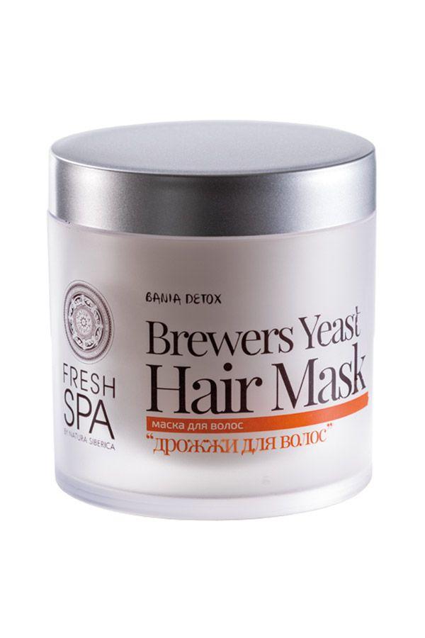 Vlasová maska s pivnými kvasnicami posilňujúca BANIA DETOX 400 ml