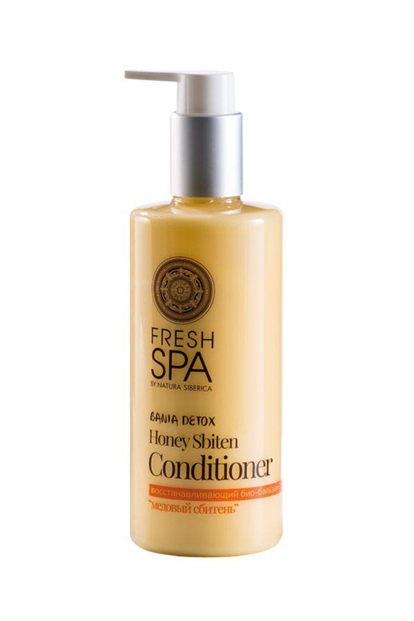 Prírodný medový kondicionér pre obnovu zničených vlasov BANIA DETOX 300 ml