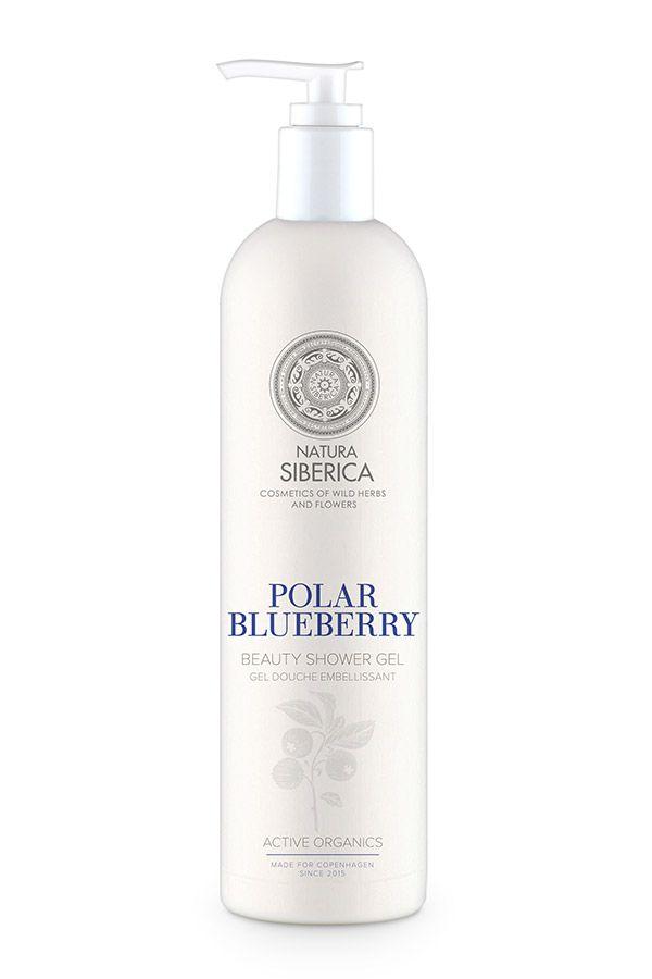 Sprchový gél Polárna čučoriedka Natura Siberica 400 ml