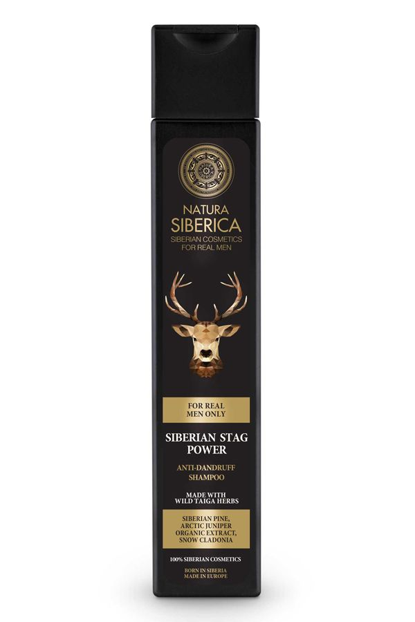 Šampón na vlasy proti lupinám Sibírsky jeleň 250 ml