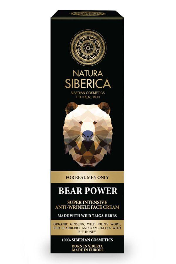 Super intenzívny krém proti vráskam Sila medveďa pre mužov 50 ml