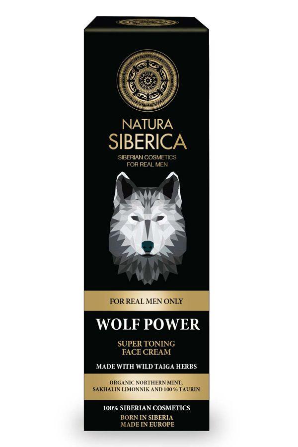 Prírodný krém na tvár Sila vlka super tonizujúci 50 ml