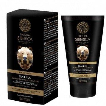 Povzbudzujúci čistiaci pleťový gél Objatie medveďa pre mužov 150 ml