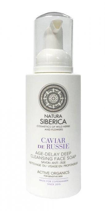 Čistiace mydlo na tvár s omladzujúcimi účinkami hĺbkové 175 ml