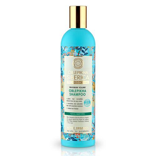 Šampón s rakytníkom pre všetky typy vlasov - maximálny objem 400 ml