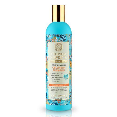 Prírodný šampón pre suché a normálne vlasy - Intenzívna hydratácia 400 ml