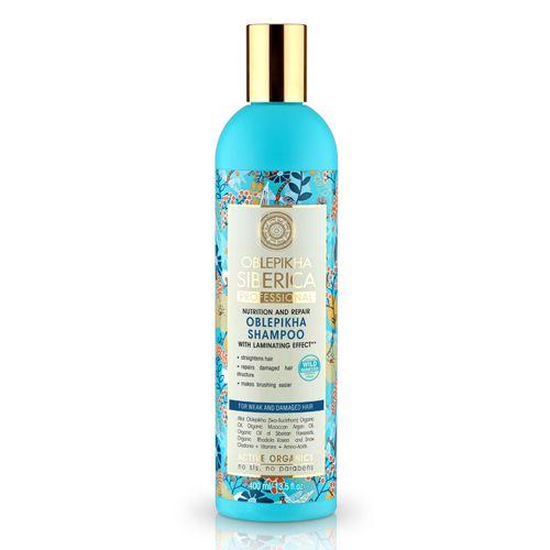 Rakytníkový šampón pre poškodené a slabé vlasy 400 ml