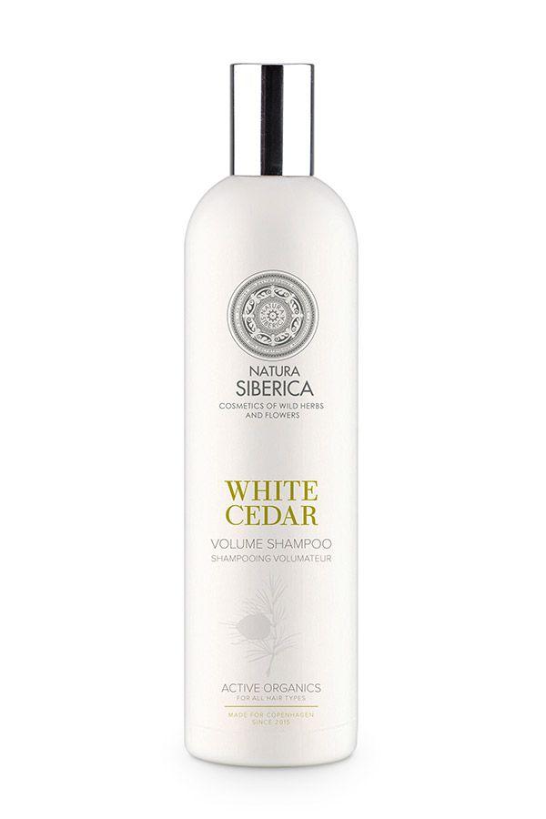 Šampón na vlasy pre objem Siberie Blanche - Biely céder 400 ml