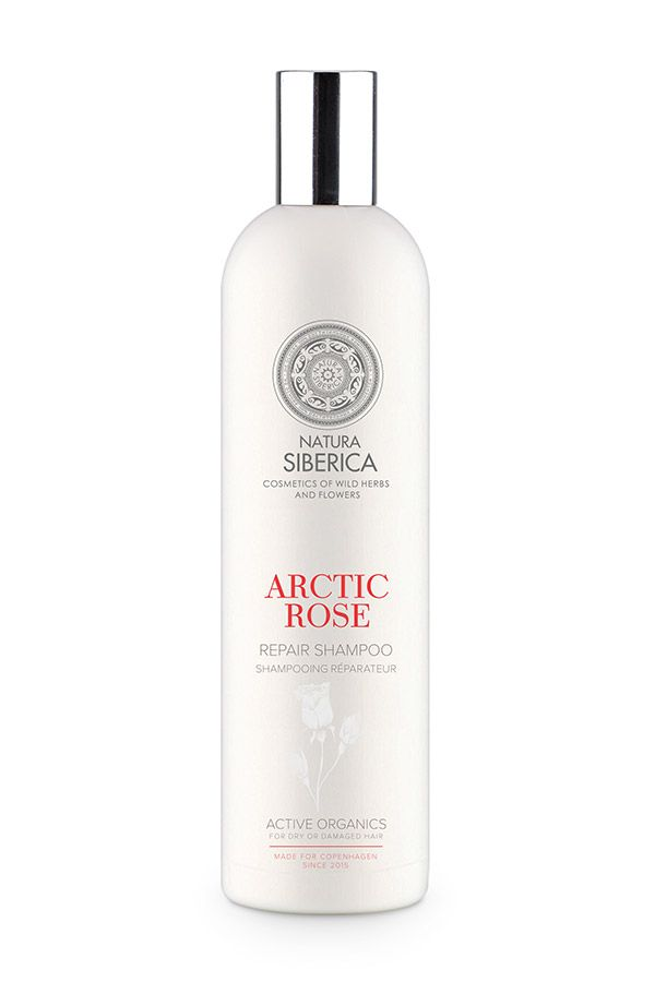 Obnovujúci šampón Arktická ruža Siberie Blanche 400 ml