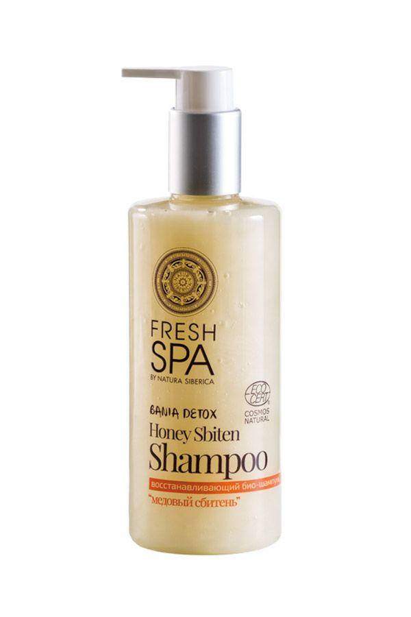 Prírodný medový šampón pre obnovu zničených vlasov BANIA DETOX 300 ml