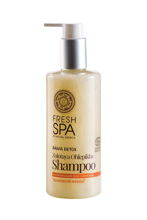 Prírodný výživný šampón Zlatý rakytník 300 ml