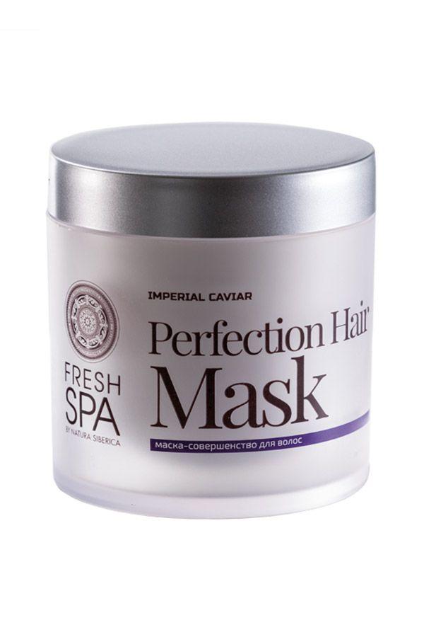 Maska na vlasy pre obnovu zničených vlasov - Dokonalosť *Imperial Caviar* 400 ml