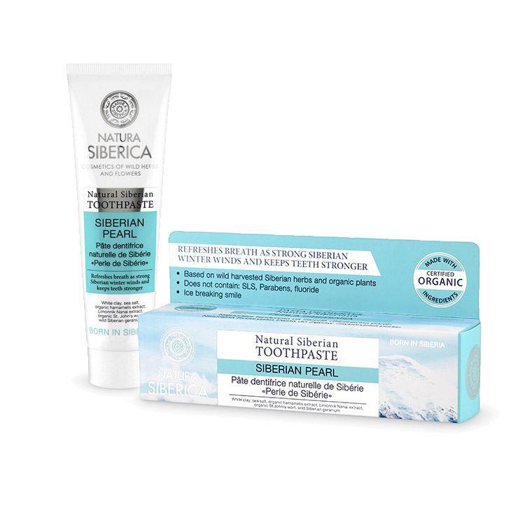 Prírodná zubná pasta - Sibírska perla 100 gramov