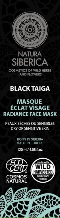 Severská čierna maska na tvár 80 ml