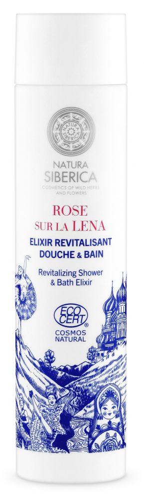 Revitalizujúci sprchový a kúpeľný elixír Siberie Mon Amour 250 ml