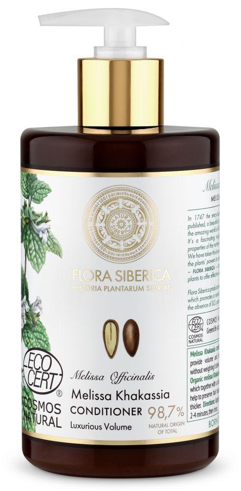 Kondicionér na vlasy pre luxusný objem Flora Siberica