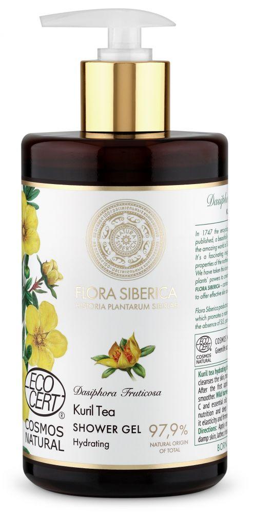 Hydratačný sprchový gél Flora Siberica - Kurijský čaj 480 ml