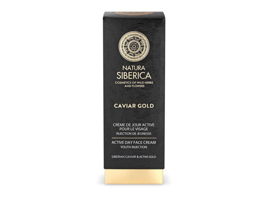 Aktívny denný krém na tvár Caviar Gold 30 ml