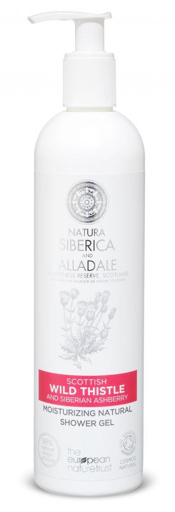 Hydratačný prírodný sprchový gél Natura Siberica 400 ml