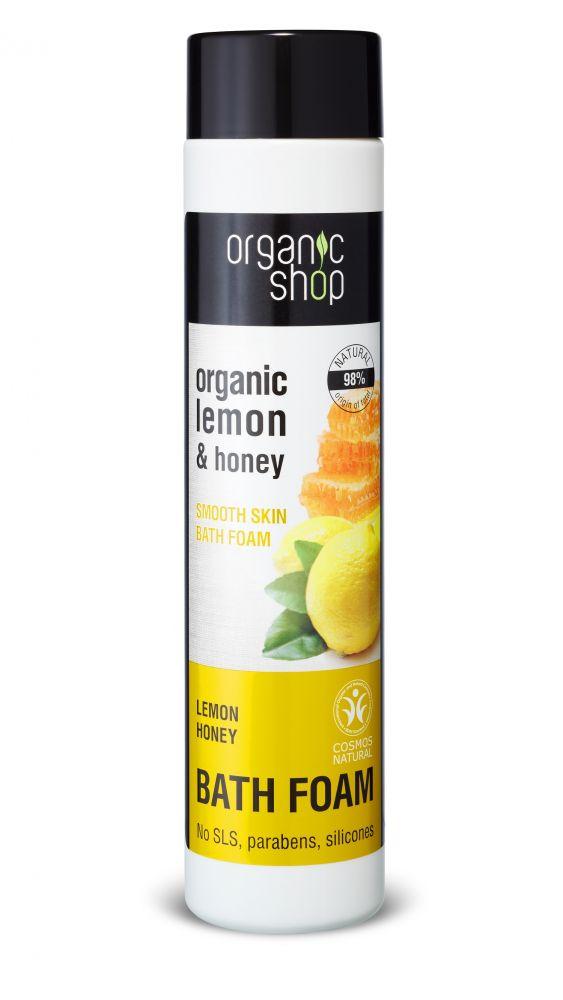 Vyhladzujúca pena do kúpeľa - med a citrón 500 ml