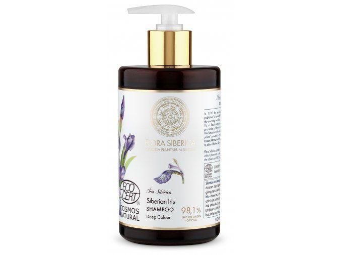 Šampón na vlasy pre sýtu farbu Flora Siberica 480 ml