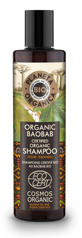 Šampón pre objem a hustotu vlasov Baobab 280 ml