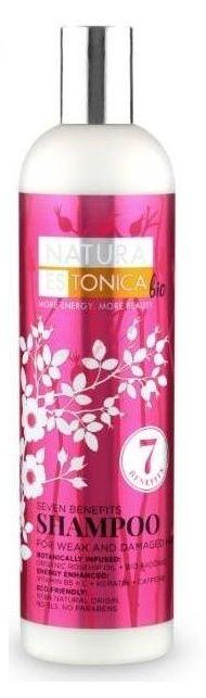 Šampón na vlasy Natura Estonica 7 benefitov 400 ml