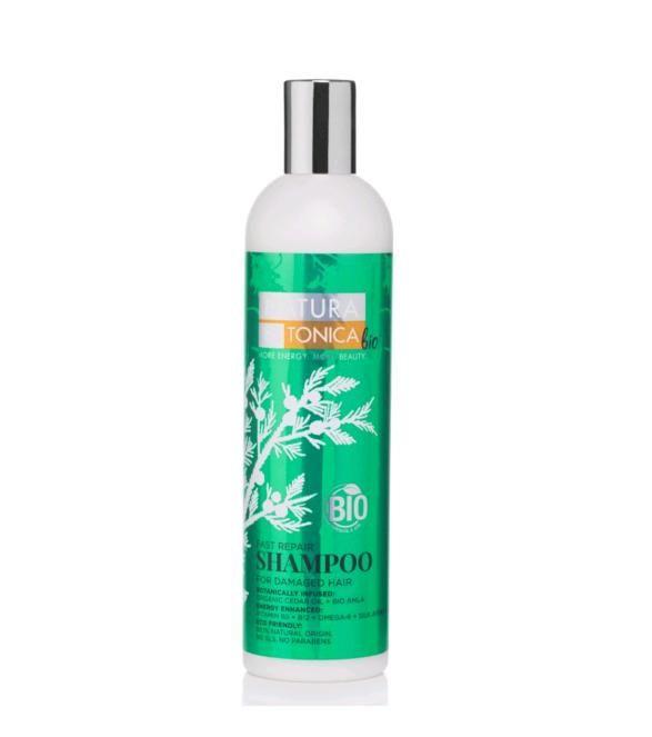 Prírodný šampón na vlasy pre obnovu zničených vlasov 400 ml