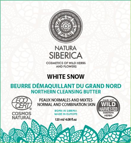 Biele čistiace severské maslo 120 ml