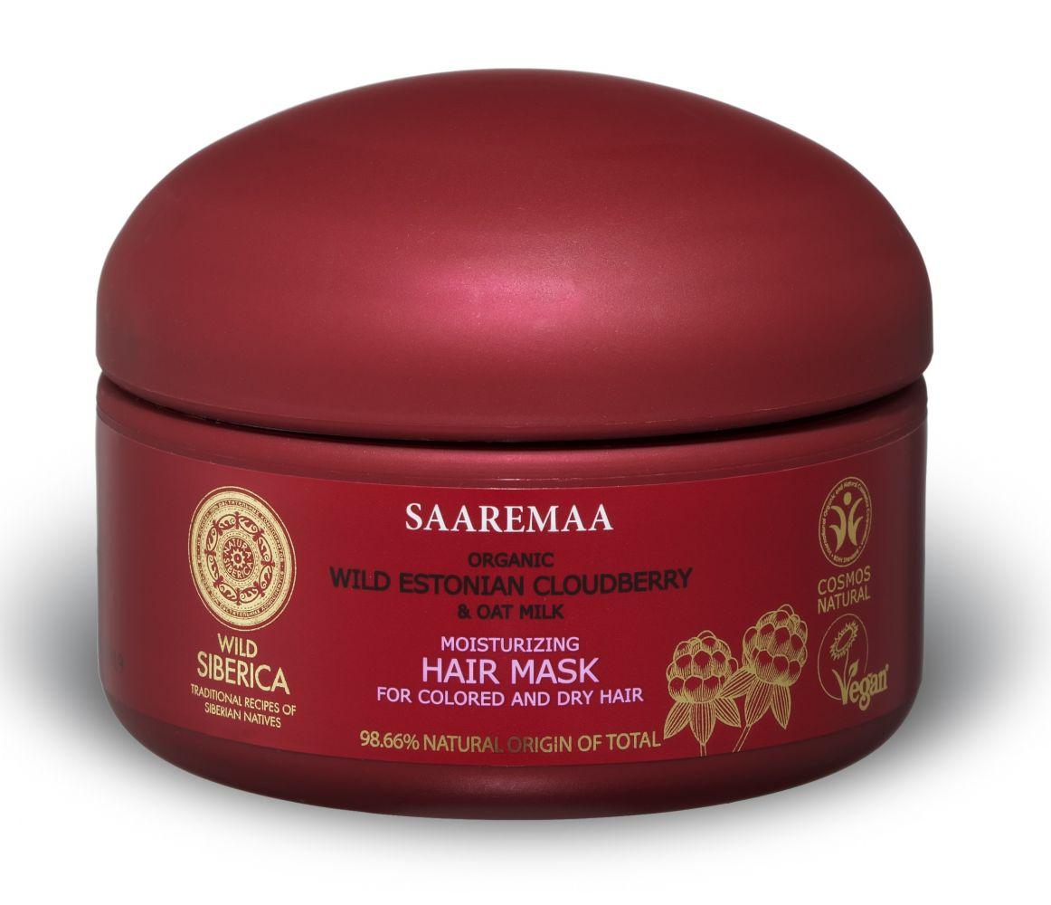 Prírodná a vegánska hydratačná maska na vlasy Saaremaa 120 ml