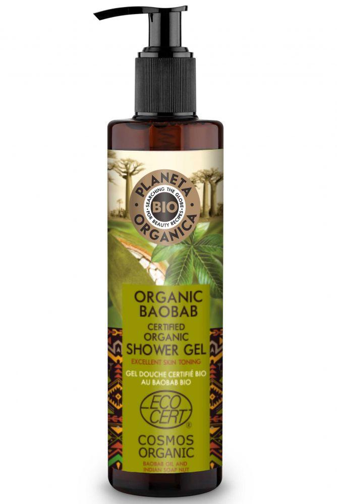 Prírodný sprchový gél Baobab 280 ml