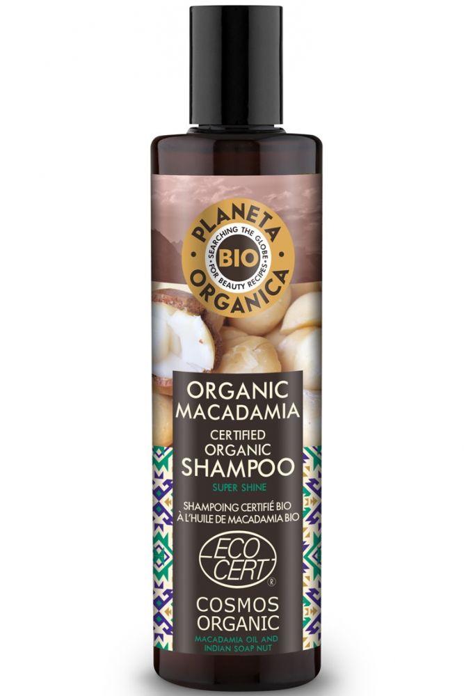 Prírodný šampón na vlasy Makadamia 280 ml