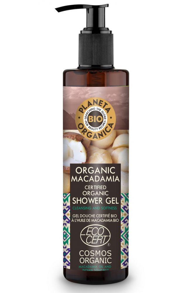 Prírodný sprchový gél Makadámia pre ženy aj mužov 280 ml