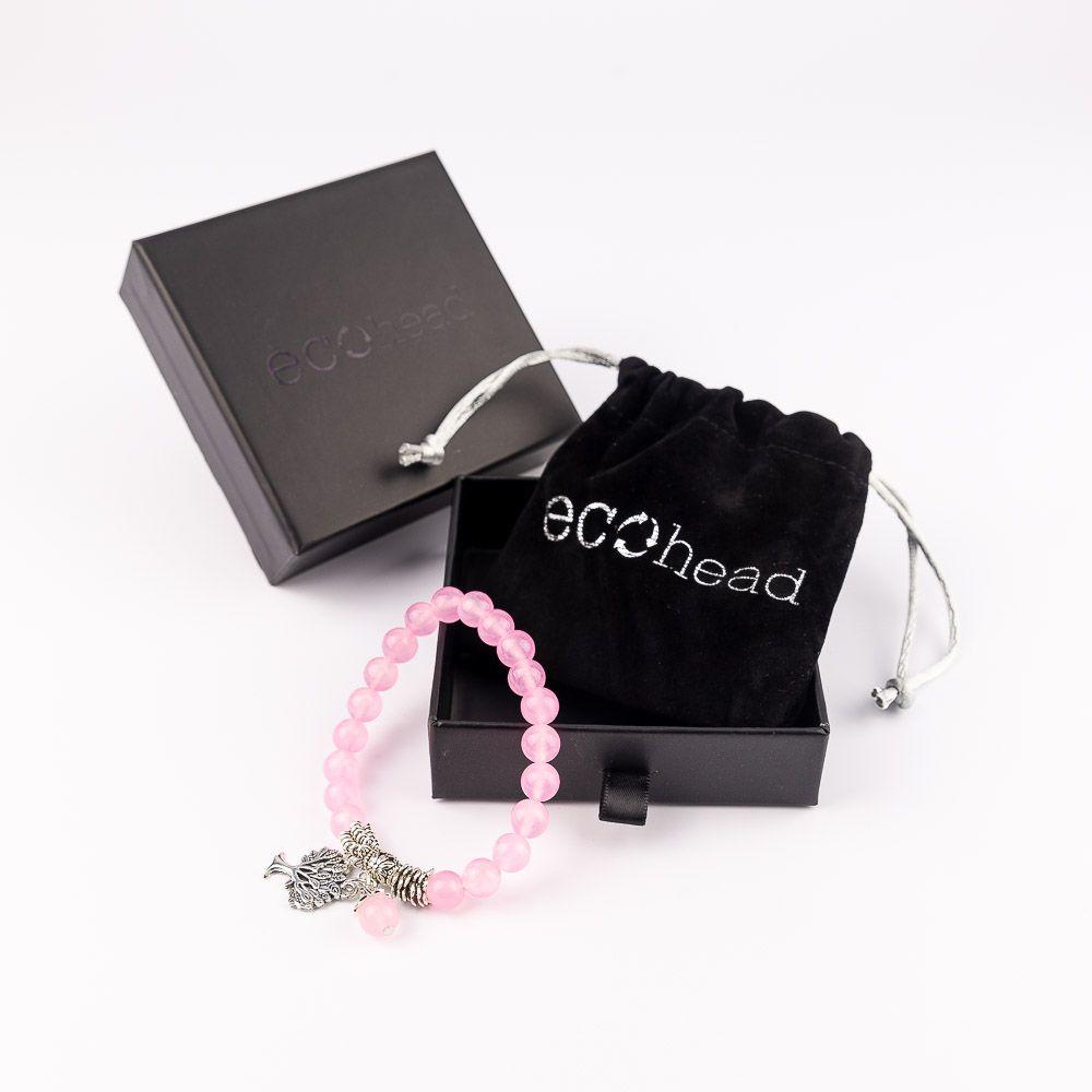 Náramok na ruku pre ženy Ružový strom Ruženín v krabičke