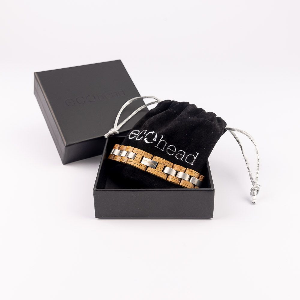 Náramok na ruku - Santal Power v darčekovej krabičke